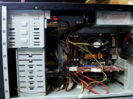 Устройство системного блока компьютера
